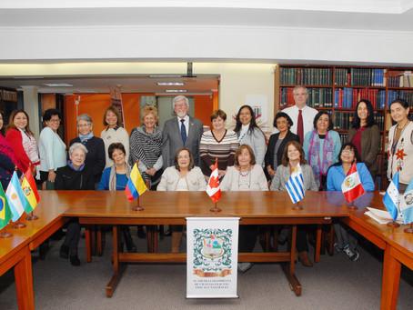 Foto oficial del grupo WOMEN FOR SCIENCE de IANAS en BOGOTÁ 2019