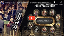 🎬 Tone Vays: Trading Bitcoin - Big Pop to $8,500, Is Tone Finally Bullish? (Live from Kim Dotcom's)
