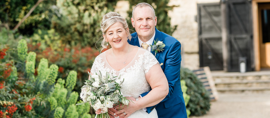 // JEN & RICH - MARCH 2020 - A wedding that almost didn't happen - Notley Tythe Barn //