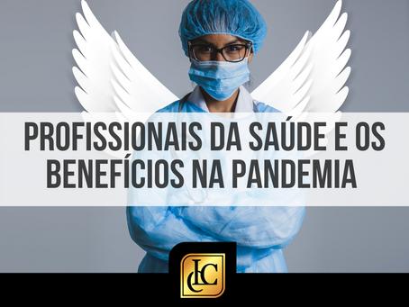 Profissionais da saúde e os benefícios acidentários na pandemia.