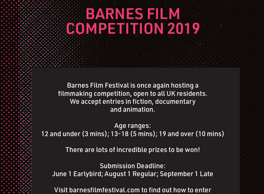 Barnes Film Festival 2019 Call for Submissions