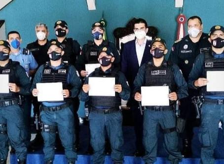 Governador condecora policiais de Barcarena pela apreensão de cocaína em maio