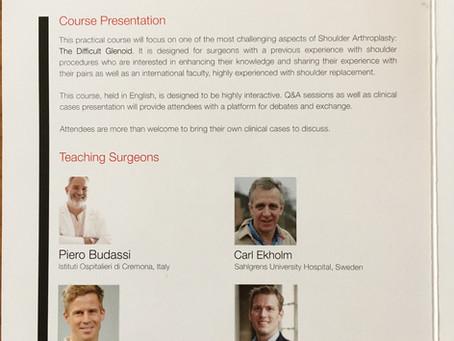 18-19.okt 2018- teaching am internationalen Ausbildungskurs in Verona