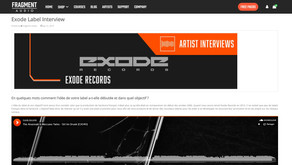 Exode Records interview on Fragment Audio