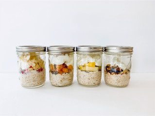 Change your Mornings with Overnight Oats!