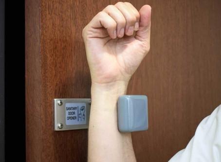 New Hands-free door openers at DMI