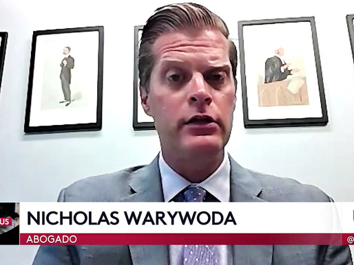 LVW Partner Nicholas Warywoda Univision Interview Discussing Filing of Coronavirus Death Lawsuit