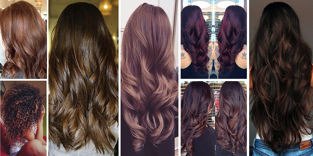 The unlimited brown hair shades