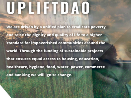 UpliftDAO.com Resource & Educational Social Hub 1.0 Launch Is Here!