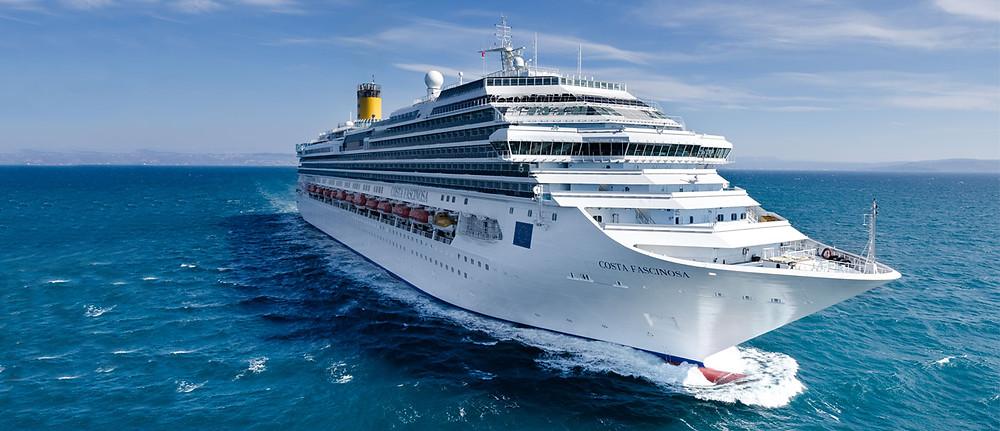 costa fascinosa cruise diarywings