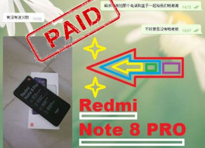 M3win Lucky Draw - Redmi Note 8 PRO
