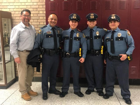 Congratulations to Student Members of the NLPOA who became St. Paul Police Officers