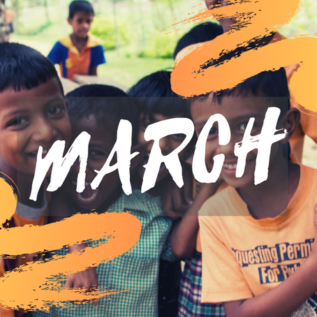 March - The Month of Happiness