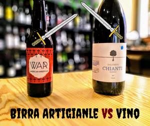 vino e birra artigianale a confronto