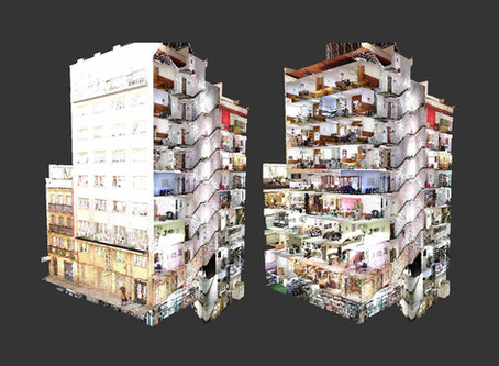 BIM - Escaneo láser de edificios completos (digitalización)