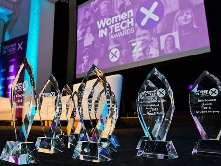 The Winners of Women in Tech Awards