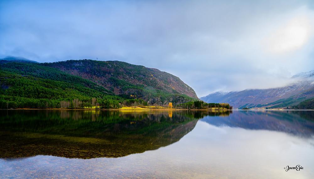 Viksdalsvatnet Lake, Norway Landscape, Norwegian landscape, Norway things to visit