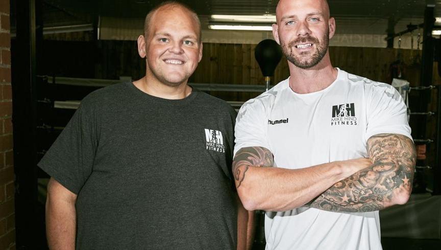 S osobním trenérem M. Hind