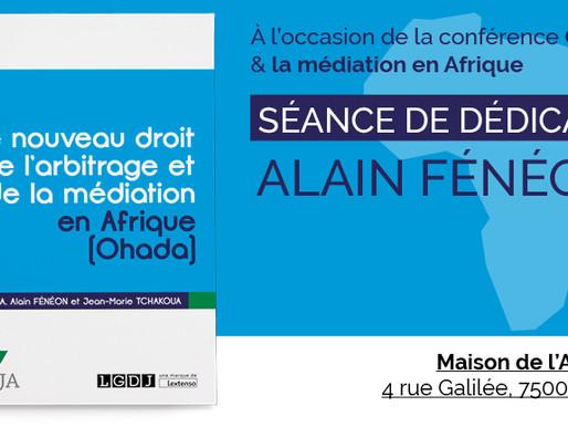 Alain Fénéon dédicace son nouvel ouvrage le 11 octobre prochain à la Maison de l'Afrique !