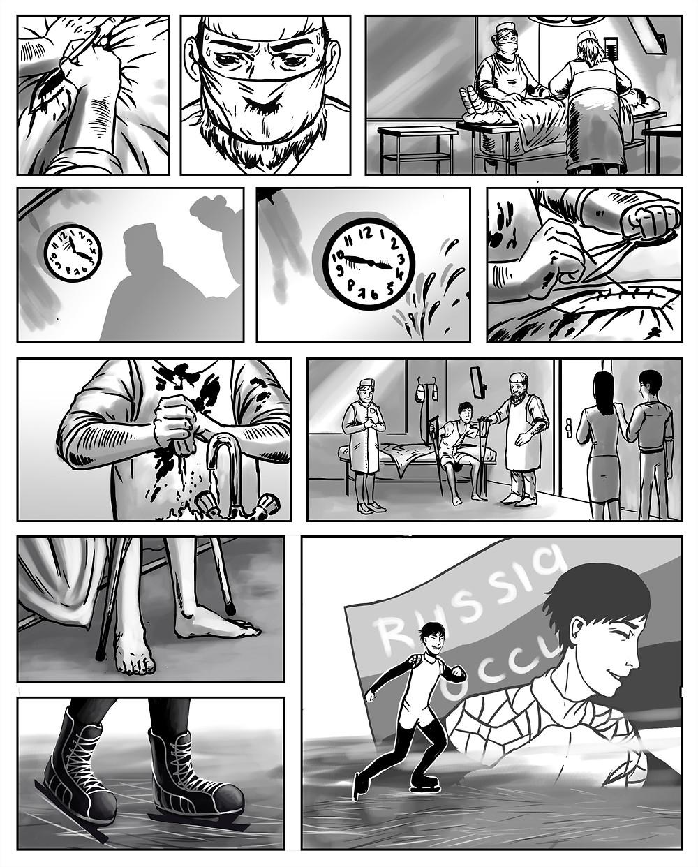 Комикс Виктор Ан 3. Студия комиксов на заказ