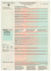 German visit visa experience
