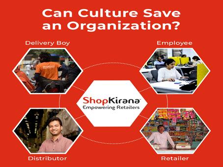 Can Culture Save an Organization?