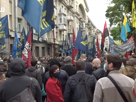 Митинг в Киеве. Стоп Реванш. 24 мая 2020