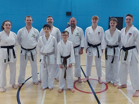 York Karate at the 1st JKS England black and brown belt course of 2020