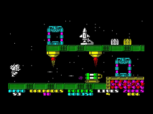 Exolon on the ZX Spectrum