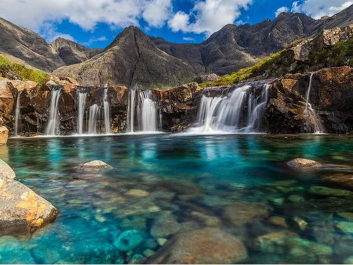 Les Fairy Pools, piscines des Fées de l'Ile de Skye en Ecosse