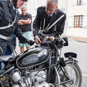 Critérium cycliste vintage...