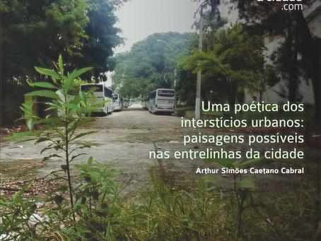 Poética, paisagem e cidade