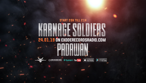 Tonight on Exode Records Radio [Karnage Soldiers]