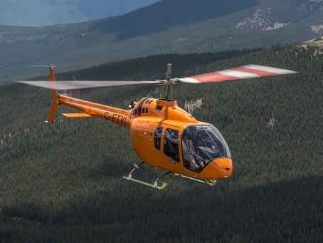 Первый Bell 505 на постсоветском пространстве