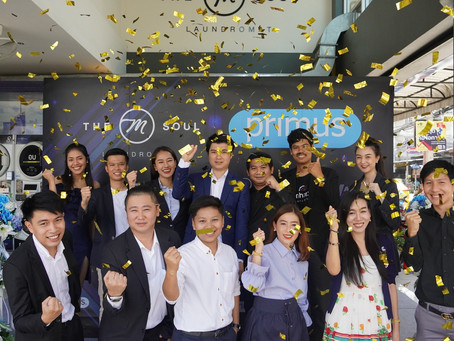 'THE M-SOUL' นำเข้าเครื่องซักผ้าแบรนด์ระดับโลก 'PRIMUS'  ต่อยอดความสำเร็จของผู้นำด้านธุรกิจร้านสะดวก