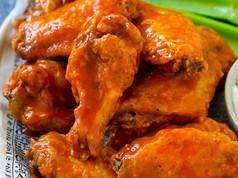 Oven-Fried Buffalo Wings