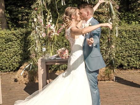 Een Corona-bruiloft, anders maar ook bijzonder!