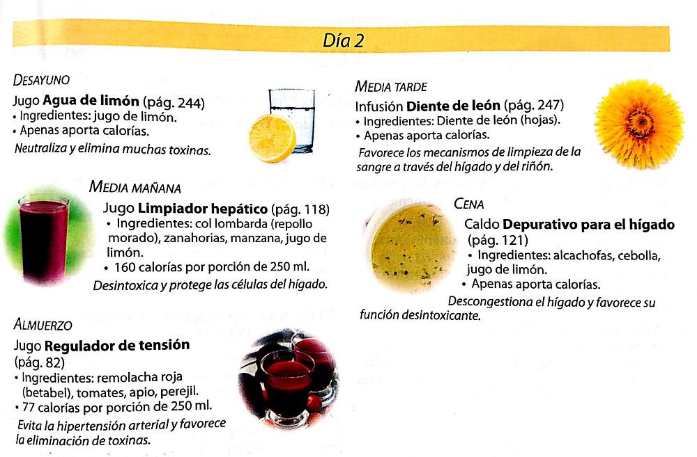 """Pagina 240 Libro """" El poder medicinal de los jugos"""" Editorial ACES"""