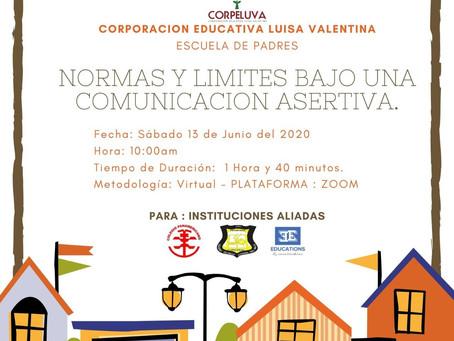 ESCUELA DE PADRES: Normas y limites bajo una comunicación asertiva...
