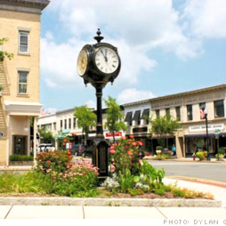 Ridgewood Town Center Clock