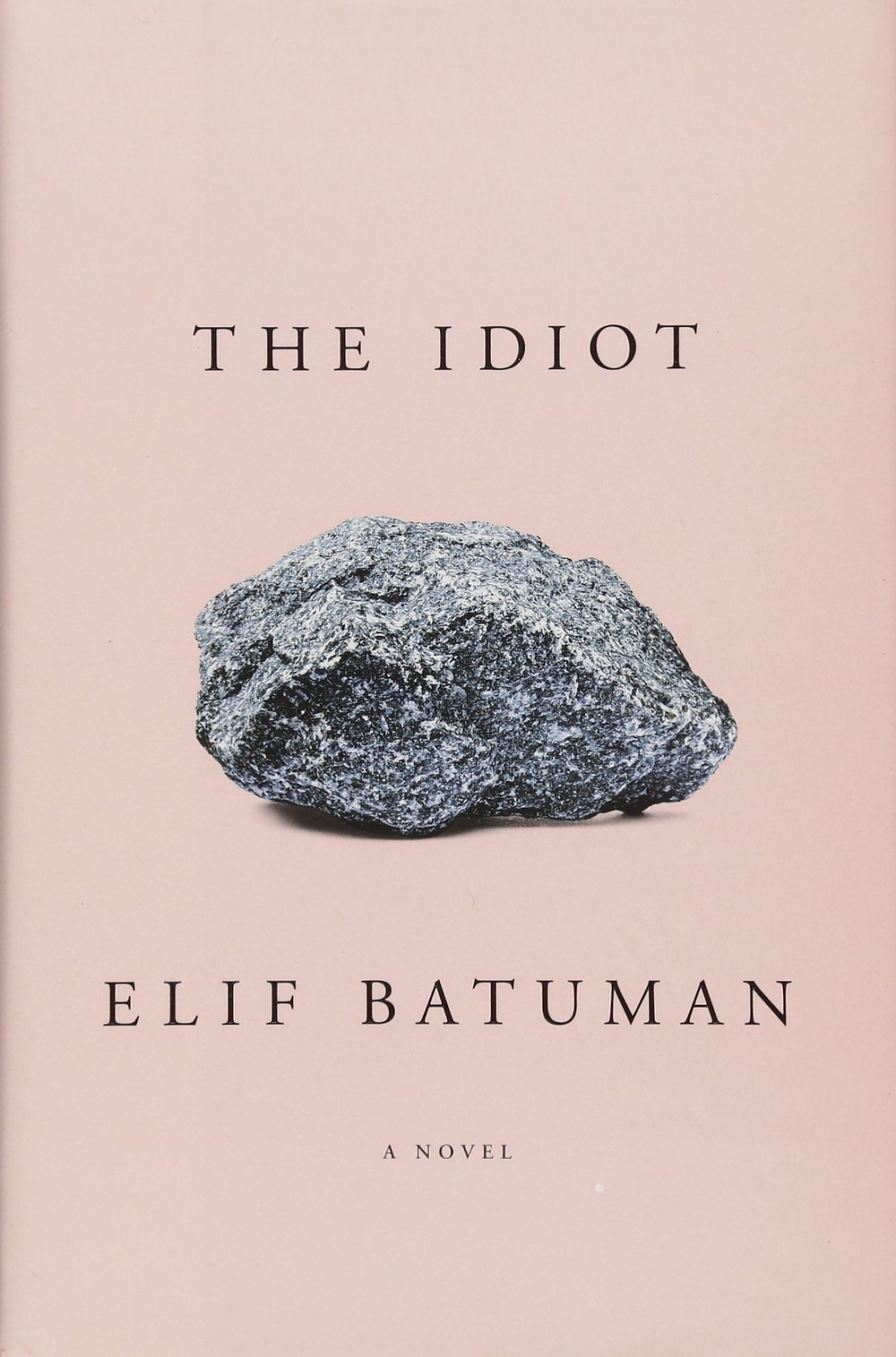 The Idiot by Elif Batuman thebookslut quarentine reads book reviews pink book cover rock