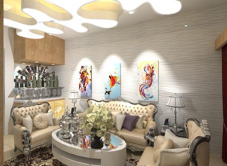 An extravagant Nagpur residence of 2700sqft