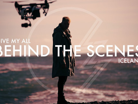 GIVE MY ALL ICELAND BEHIND THE SCENES