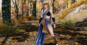 FF 13 Fang Outfit Skyrim LE