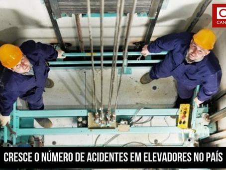 Cresce o número de acidentes em elevadores no País