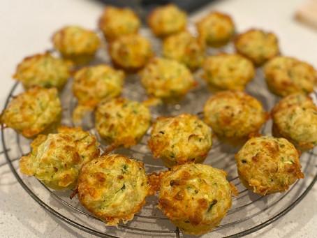 Mini veggie muffins