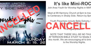 Youth Worship Nights