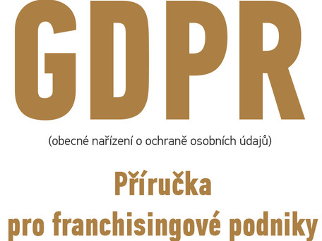 GDPR a franchisingové systémy