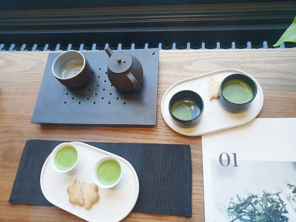Matcha Green Tea In Budapest