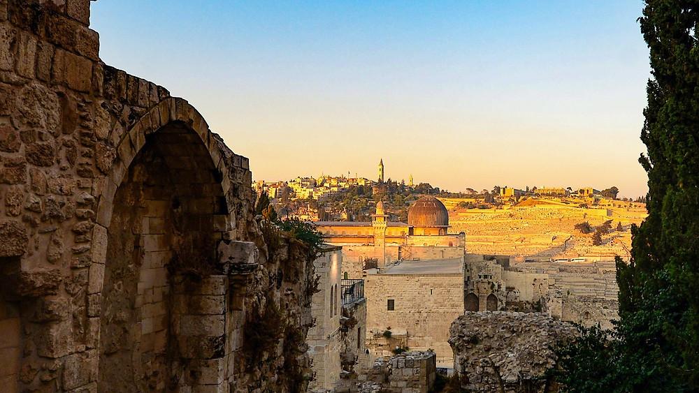 A view of Jerusalem city
